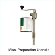 Misc. Preparation Utensils