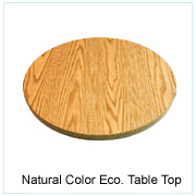 Natural Color Eco. Table Top
