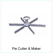 PIE CUTTER & MAKER