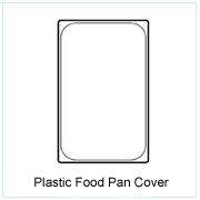 Plastic Food Pan Cover