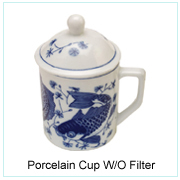 PORCELAIN CUP W/O FILTER