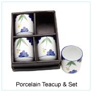 Porcelain Tea Cup & Set