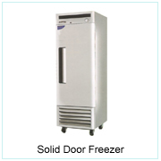 Solid Door Freezer