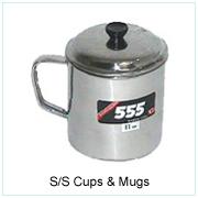 S/S Cups & Mugs
