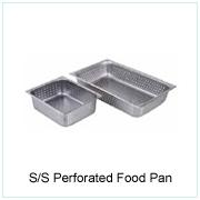 Perforated S/S Food Pan