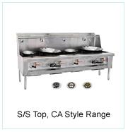 S/S Top, Ca Style Range