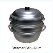 Steamer Set-Alum