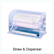 STRAW & DISPENSER