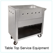 Table Top Service Equipment