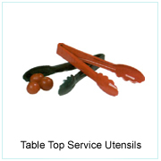 Table Top Service Utensils