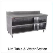 Urn Table & Water Station