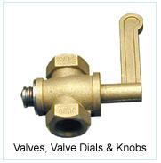 Valves, Valve Dials & Knobs