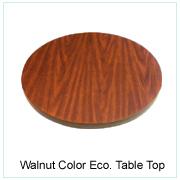 Walnut Color Eco. Table Top