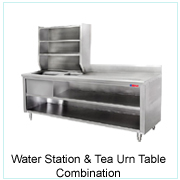Water Station&Tea Urn Table Combination