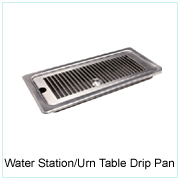 Water Station/Urn Table Drip Pan