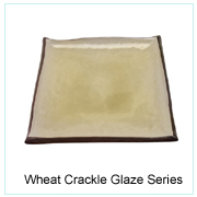 Wheat Crackle Glaze Series