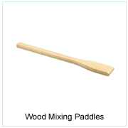 Wood Mixing Paddles