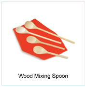 WOOD MIXING SPOON